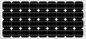 Solar panels from single-crystal photoelectric elements