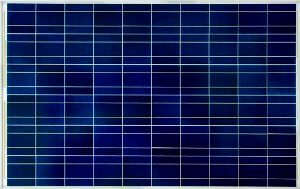 Solar panels made of polycrystalline photovoltaic cells