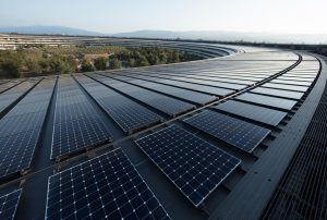 Apple has completely switched to alternative energy sources