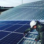 крепление для солнечных панелей из композита